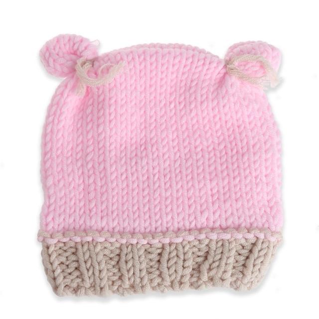 Simpatico cartone animato per bambini ragazzi ragazze cappelli handmade  infantile cappellini neonato fotografia puntelli 98d9d9165a79