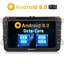Pumpkin 2 Din 8 Android 8 0 font b Car b font DVD Player GPS Navigation