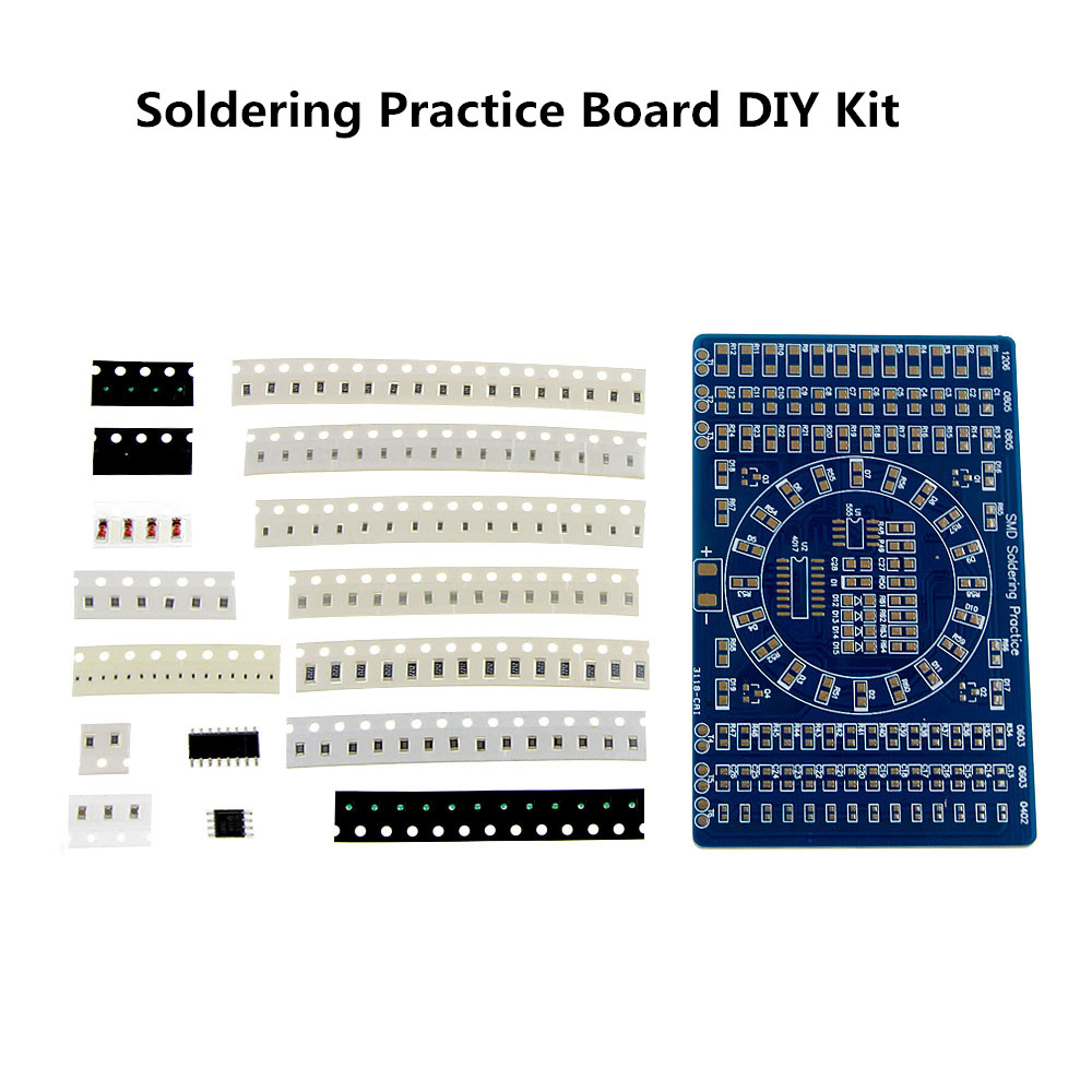 Active Components Search For Flights Ne555+74hc595 16bit 16 Channel Light Water Flowing Lights Led Module Kit Running Light Diy Kits Welding Practice Board Easy To Repair Electronic Components & Supplies