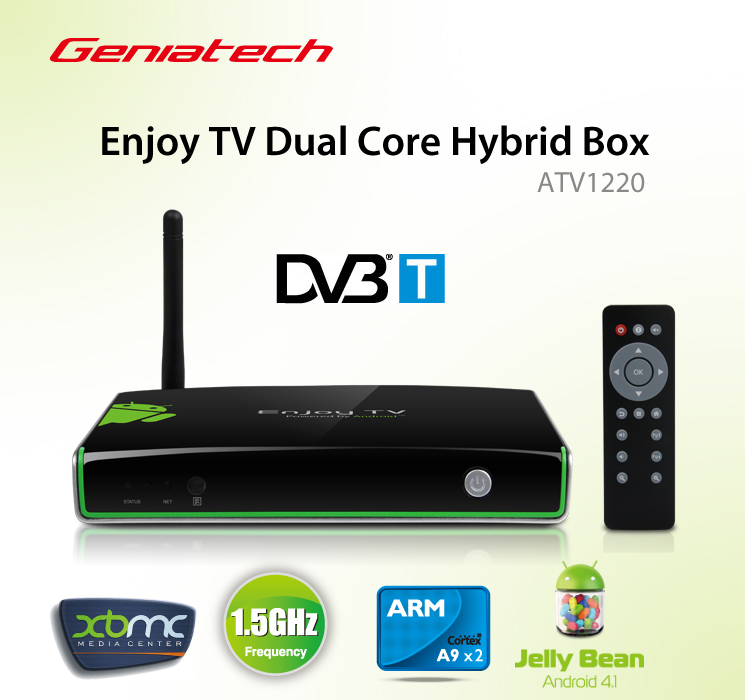 xbmc fully loaded geniatech atv1960 android tv box google. Black Bedroom Furniture Sets. Home Design Ideas