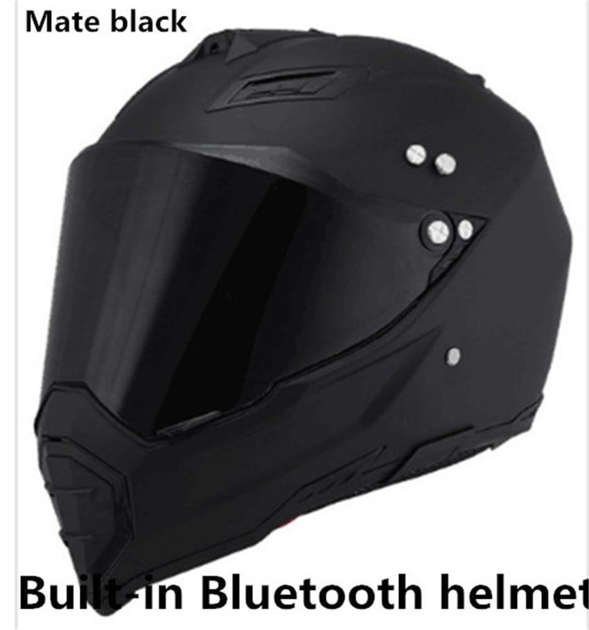 brands helmet Multi BT Interphone Motorcycle Bluetooth Helmet Intercomunicadores Intercom Headset can listen music