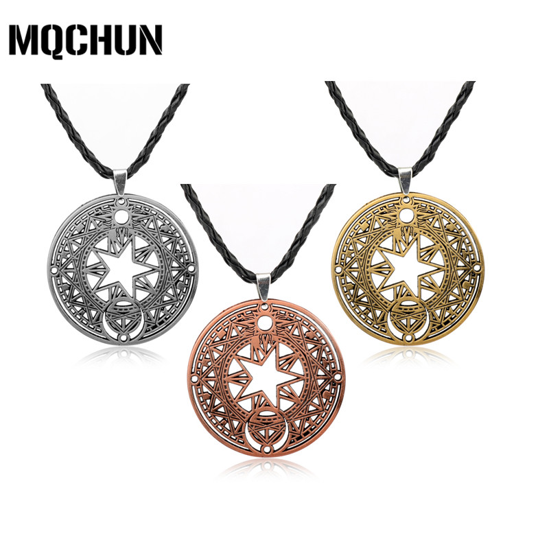 애니메이션 Cardcaptor Sakura Necklace Card Captor 피겨 펜 던 트 펜 던 트 Necklace Jewelry 보석 Mocha Sakura Choker Necklace-30