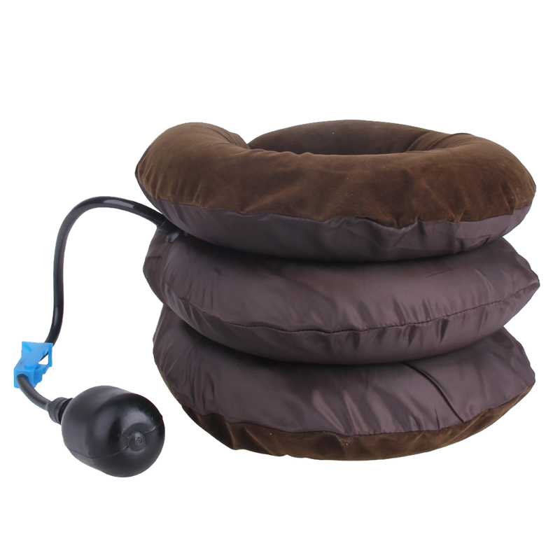 Inflatable Air Cervical Neck Traction Device Soft Head Back Shoulder Neck Ache Massager Headache Pain Relieve Relaxation Brace 14