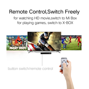 Image 2 - Ugreen hdmi divisor 3 porto hdmi switch switcher hdmi porto para xbox 360 ps3 ps4 inteligente android hdtv 1080 p 3 entrada para 1 saída 4 k