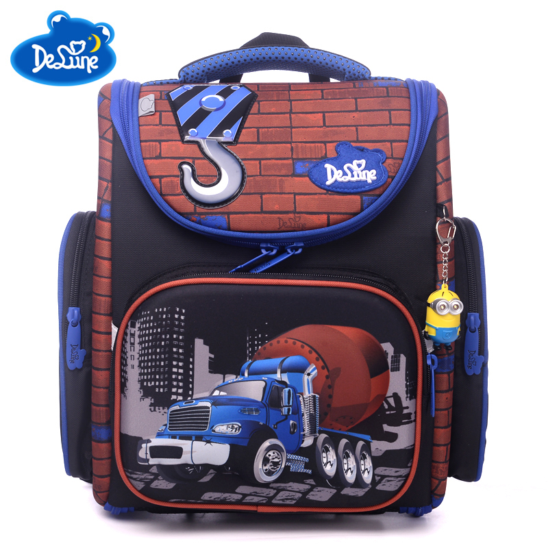 цена children school bags orthopedic schoolbag backpack kids school backpacks boys Girls Primary school backpacks bookbags sac enfant