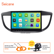 Seicane 10.1″ Android 6.0 Car Radio GPS Navigation for Honda CRV 2011-2015 with Bluetooth Support 3G wifi  DVR Backup camera