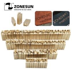 ZONESUN Custom brass font (Phaedrus Italic) A 6mm for ZS110