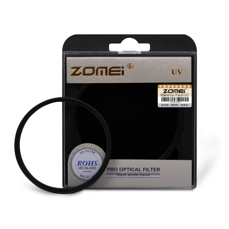 Zomei 40.5/49/52/55/58/62/67/72/77/82mm UV Standard Frame Filter Ultra-Violet Lens Protector for Canon Nikon Sony Camera nisi 77mm pro uv ultra violet professional lens filter protector for nikon canon sony olympus camera
