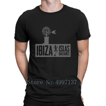 Islas Baleares Ibiza T Shirt Gift Summer Style Knitted Tee Shirt Trend Plus Size 3xl Male Building Shirt image