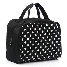 Fashion Lady Organizer Multi Functional Cosmetic Storage Dots Bags Women