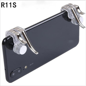 New Arrival R11s Gamepad PUBG Mobile Controller Trigger Control Phone Gamepad L1R1 Gaming Shooter for Iphone Android Joystick