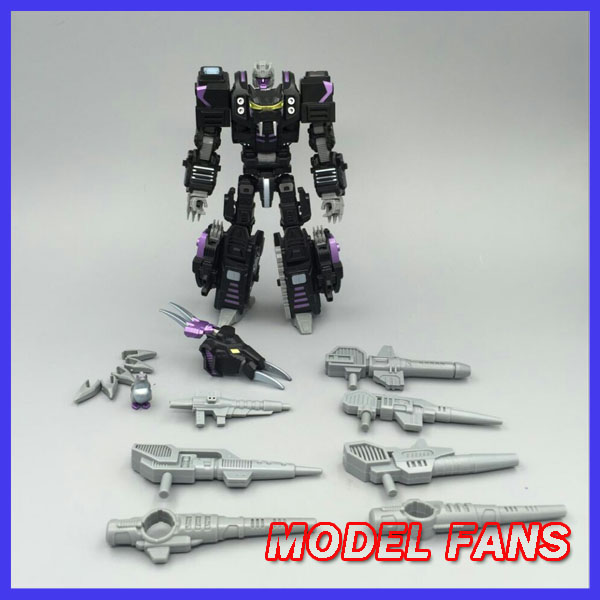цена на MODEL FANS IN-STOCK neoart toys ko MMC Transformation robot black dark Predaking uranus freeshipping