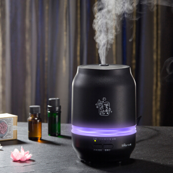 X10 Mini Air Humidifier Home Essential Oil Aromatherapy Diffuser Aluminum Alloy Mute Timing Dry Auto Power-Off 3 Color Lights