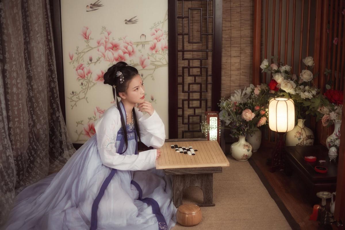 Vêtements Fée breasted Été Jupe Femmes Antique Frais Plein Chinois Modifié Élégant De Hanfu Et Quotidienne R8FvO