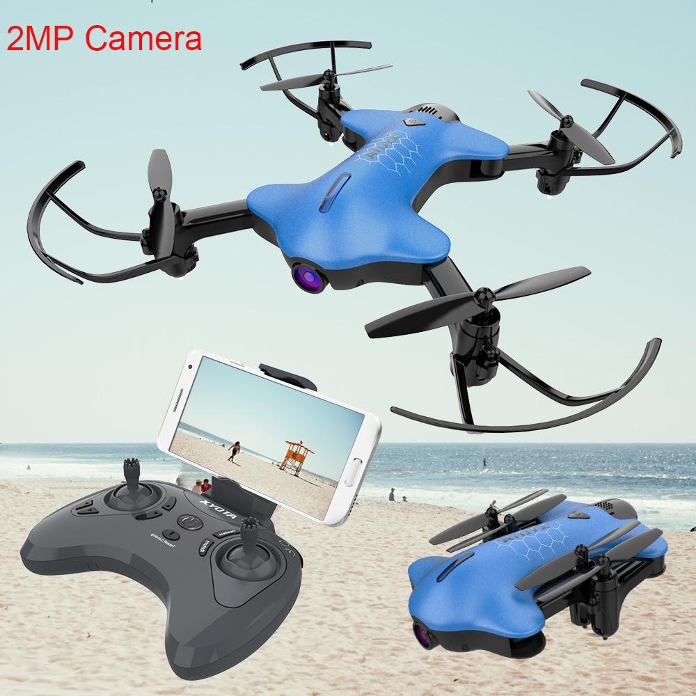 Atoyx-146 WIFI FPV gran angular de alta modo Hold plegable brazo RC Quadcopter Drone con cámara con 2MP