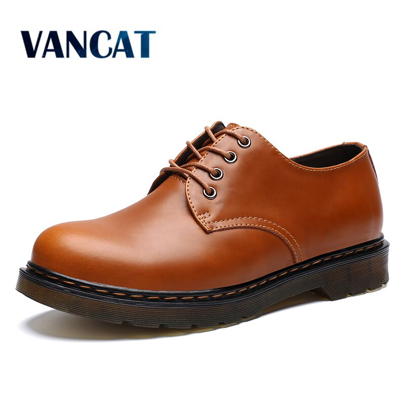 High Quality Genuine Leather Men Shoes Spring Work Safety Casual Shoes Fashion Flats Oxfords Loafers Moccasins Big Size 39-46