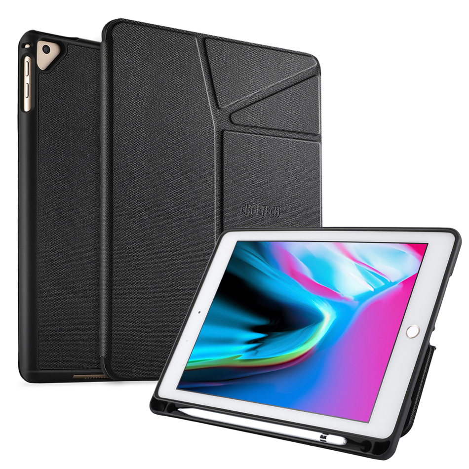 CHOETECH Protective Case Cover For iPad 9.7 2018/2017 Tablet Stable Stand With Soft Flexible TPU Back Cover For iPad Air/Air 2 Price $21.63