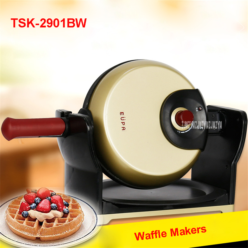 TSK-2901BW eggettes Professional electric waffle iron blast furnace maker bubble machine egg tart 220V/50Hz 20.3cm Tray diameter used 100% tesed a20b 2901 0582