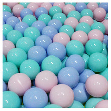 7cm 200pcs Candy Color Children Soft Plastic Water Pool Ocean Wave Ball Baby Funny Toys Stress Air Ball Outdoor Fun Sports
