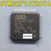 10 шт. X STM32F107RCT6 STM32F STM32F107 LQFP64, новинка, бесплатная доставка