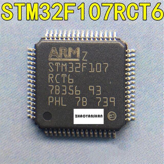 10 個の x STM32F107RCT6 STM32F STM32F107 LQFP64 新送料無料
