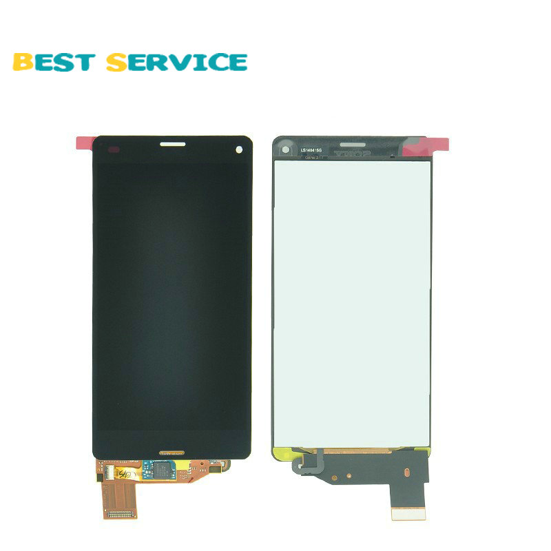 ФОТО 5Pcs/Lots For Sony Xperia Z3 Compact  Z3 mini D5803 D5833 LCD Screen Display with Touch Screen Digitizer Assembly Free Shipping
