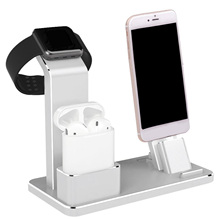Besegad Charging Dock Station Stand Holder for AirPods Air Pods IPad Apple Watch iWatch 38mm 42mm iPhone iphon 7 6 6S 5S SE Plus
