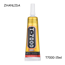 ZHANLIDA 15ml T7000 Stronger Glue T-7000 Super Liquid Glue Black Sealant Adhesive For Phone Touch Screen Frame Repair Diy Tools