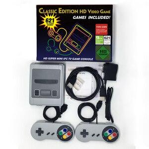 Image 1 - Hdmi 621 jogos infância retro mini clássico 4 k tv hdmi 8 bits console de jogos de vídeo jogador de jogos handheld