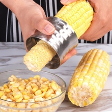 Creative Kitchen Gadget Corn Planer Thresher Accessories Tool  Stainless Steel Vegetable Peeler