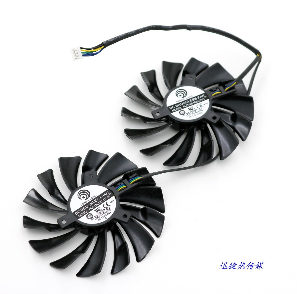 US $40 88 |Msi MSX GTX 950 / GTX 960 and R9 380 / R9 390 / R9 390X graphics  fan-in Fans & Cooling from Computer & Office on Aliexpress com | Alibaba