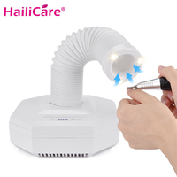 Professional 60W Strong Vacuum Collector For Nail Dust Cleaner Powerful Nail Art Machine For Manicure Nail Fan Dust Suction Tool