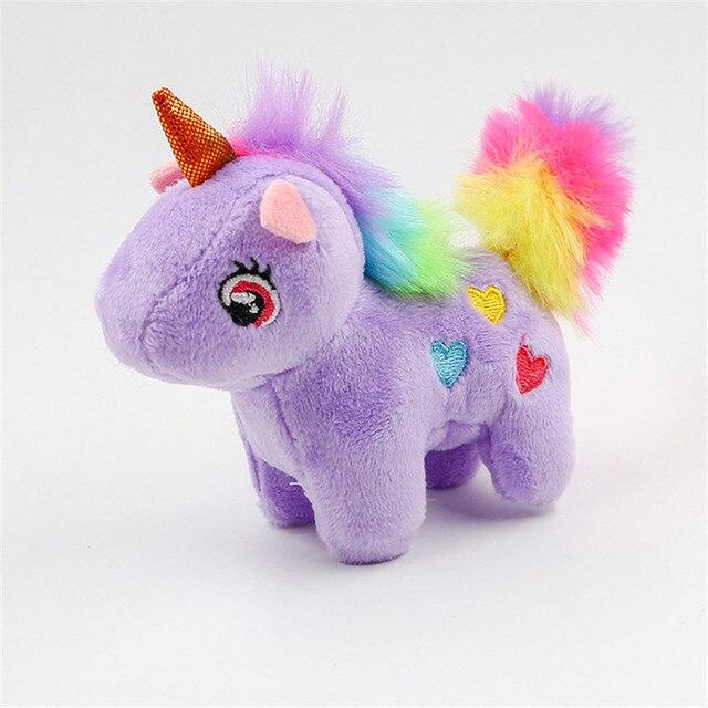 14cm Cute Unicorn Doll Keychain