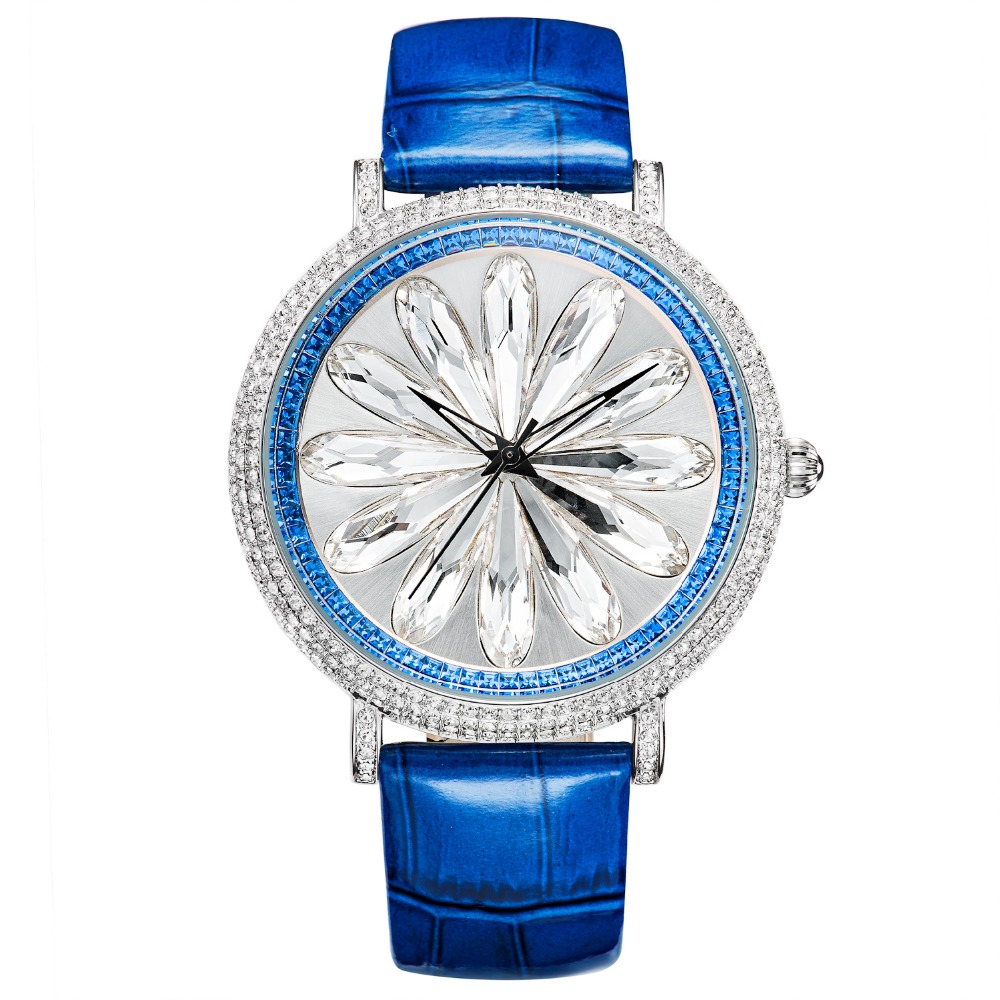MATISSE Fashion Austria Crystal Rotatable Dial Leather Strap Buiness Quartz Watch Wristwatch matisse fashion austria crystal rotatable dial lady women buiness quartz watch wristwatch