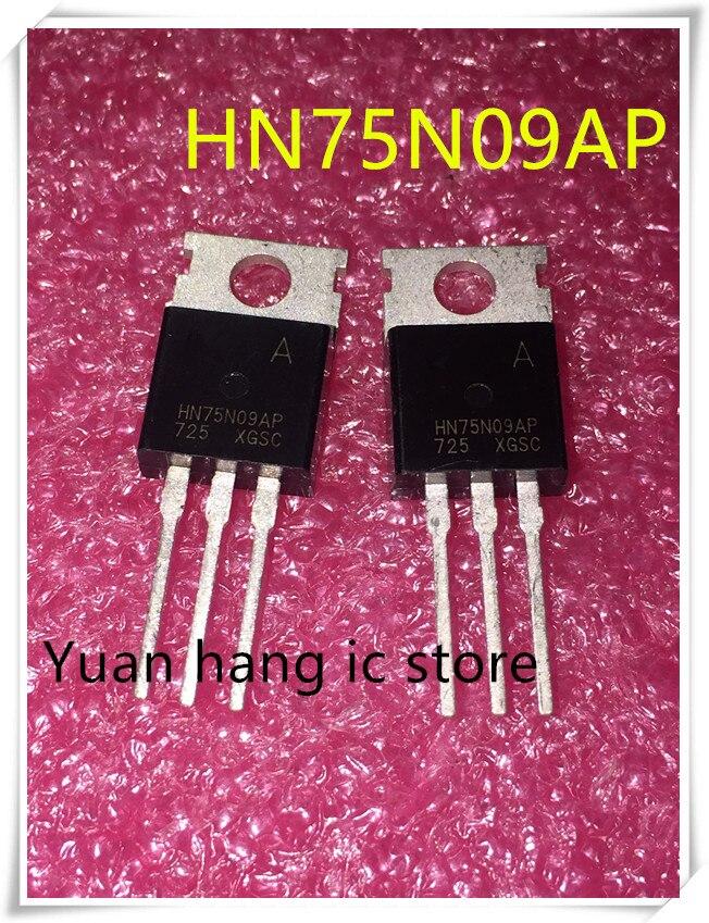 Original 10PCS  HN75N09AP 75N09AP HN75N09 TO-220