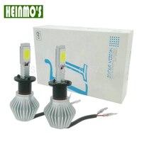 2x 40W H4 Car LED Headlight Auto Headlamp For LUXEON Chip Car Fog DRL Replace Light