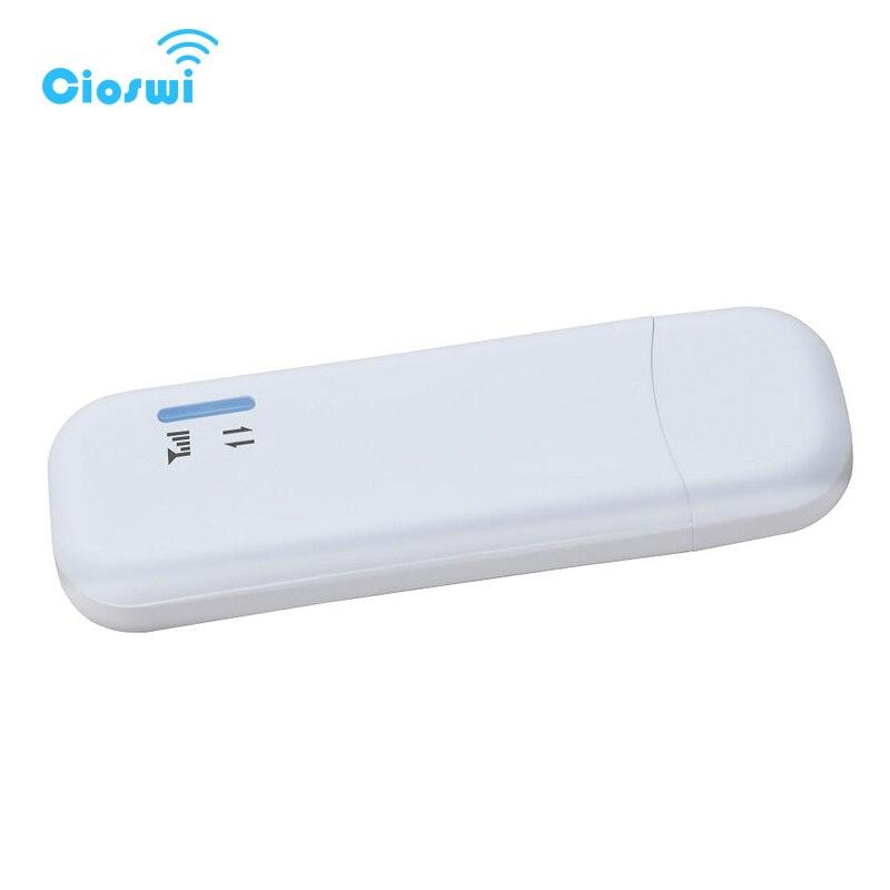 Cioswi sans fil usb sim dongle modem universel pour ordinateur portable 150 Mbps lte modem wifi B20 Qualcomm MDM9207 livraison rapide