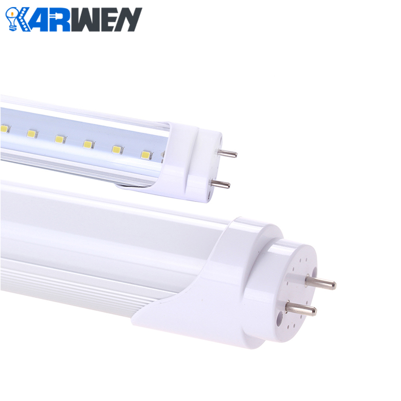 KARWEN LED Tube Light Bulb T8 led Lamp  10W AC 220v Integrated Tube 600mm SMD 2835 wall Lamps White Lampada Led Spotlight brightinwd 110v 220v s14s s14d led light linestra integrated tube strip lamp mirror wall light powerful 3w 6w 10w 15w tube light