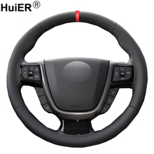 Hand Sewing Car Steering Wheel Cover Braid on the Steering wheel Funda Volante For Faw Besturn x80 2013 2014 2015 2016 2017 2018