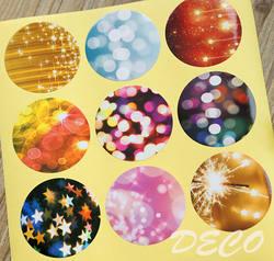 100 шт./лот Kawaii печать наклеек свет печатных наклейки для подарочной упаковки подарков Этикетка (ss-a830)
