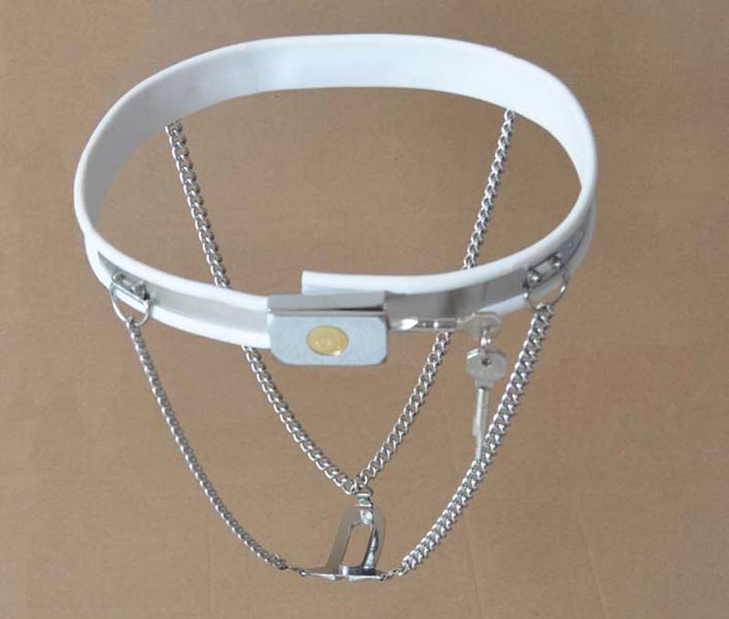ФОТО metal stainless steel+silicone female chastity belt strapon panties fetish wear bdsm fetish bondage sex product fors woman