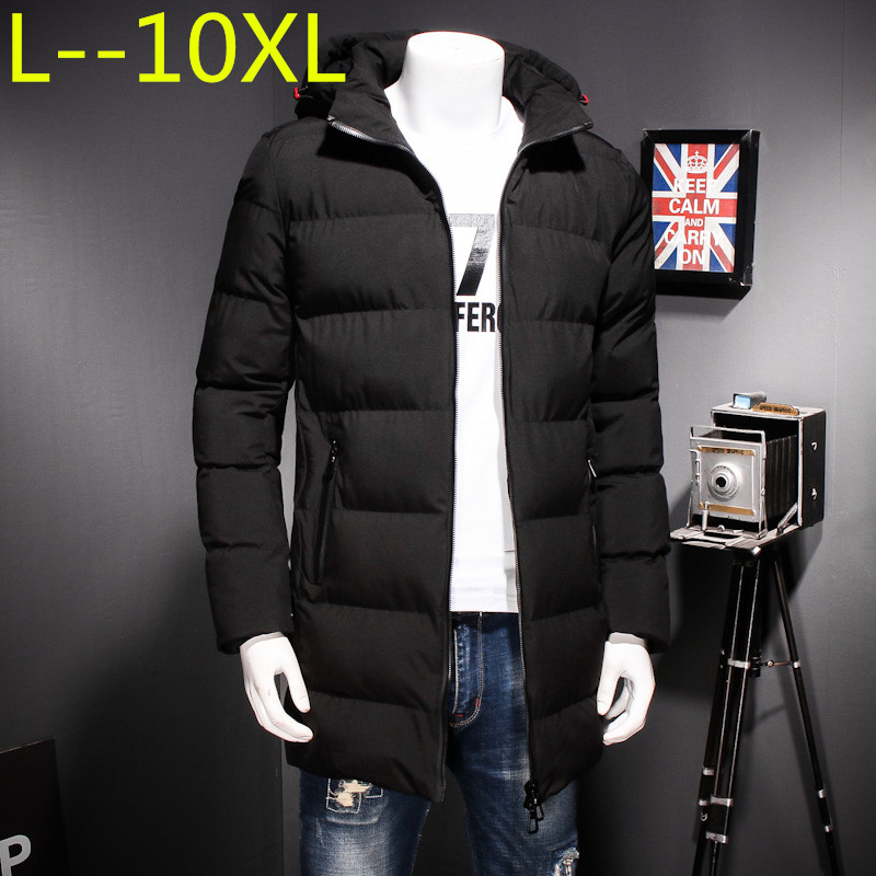 Jackets & Coats Nice Winter Men Warm Down Coat Long Sleeve Stand Collar Soft Warm Jacket Casual Zipper Windproof Slim Parka Male Pullovers Overcoat