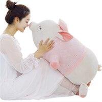 Fancytrader Cuddly Fat Pig Đồ Chơi Sang Trọng Big Anime Con Heo Đất Gối Búp Bê 90 cm 35 inch Quà Tặng dành cho N