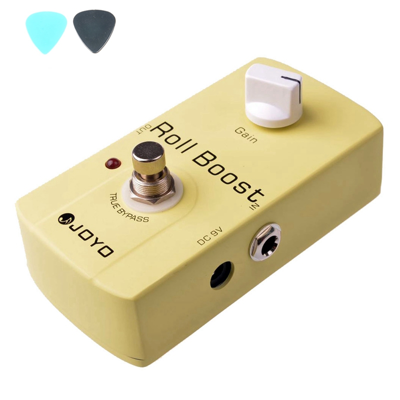 JF-38 Roll Boost Effects Guitar Pedal JF38 Effect Pedal JOYO Roll Boost Pedals JOYO guitar accessories jf 324 gate of kahn effects guitar pedal jf324 effect pedal joyo gate of kahn pedals joyo
