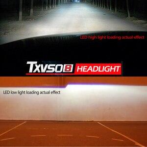 Image 4 - H1 H3 H7 LED Headlight Bulb Car Light H13 H27 880 5202 9004 9007 hb4 9006 9005 hb3 Lamp Luces Led h4 para Auto Fog H11 6000K 12V