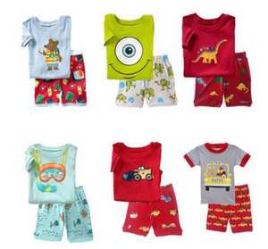 befcba82b406 Tiskok Clothing Set Summer children Boy Girl Shorts Suit