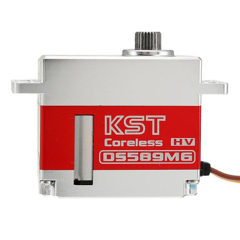 KST DS589MG 9.2 KG Swashplate Micro Servo numérique pour gobelin 500/500 Sport RC hélicoptère voiture avion accessoires pièces de rechange