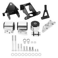 Aluminum Alloy Engine Swap Mount Kit For Honda Civic SI 70A 2006 2007 2008 2009 2010 2011 High Quality Engine Bracket Kit