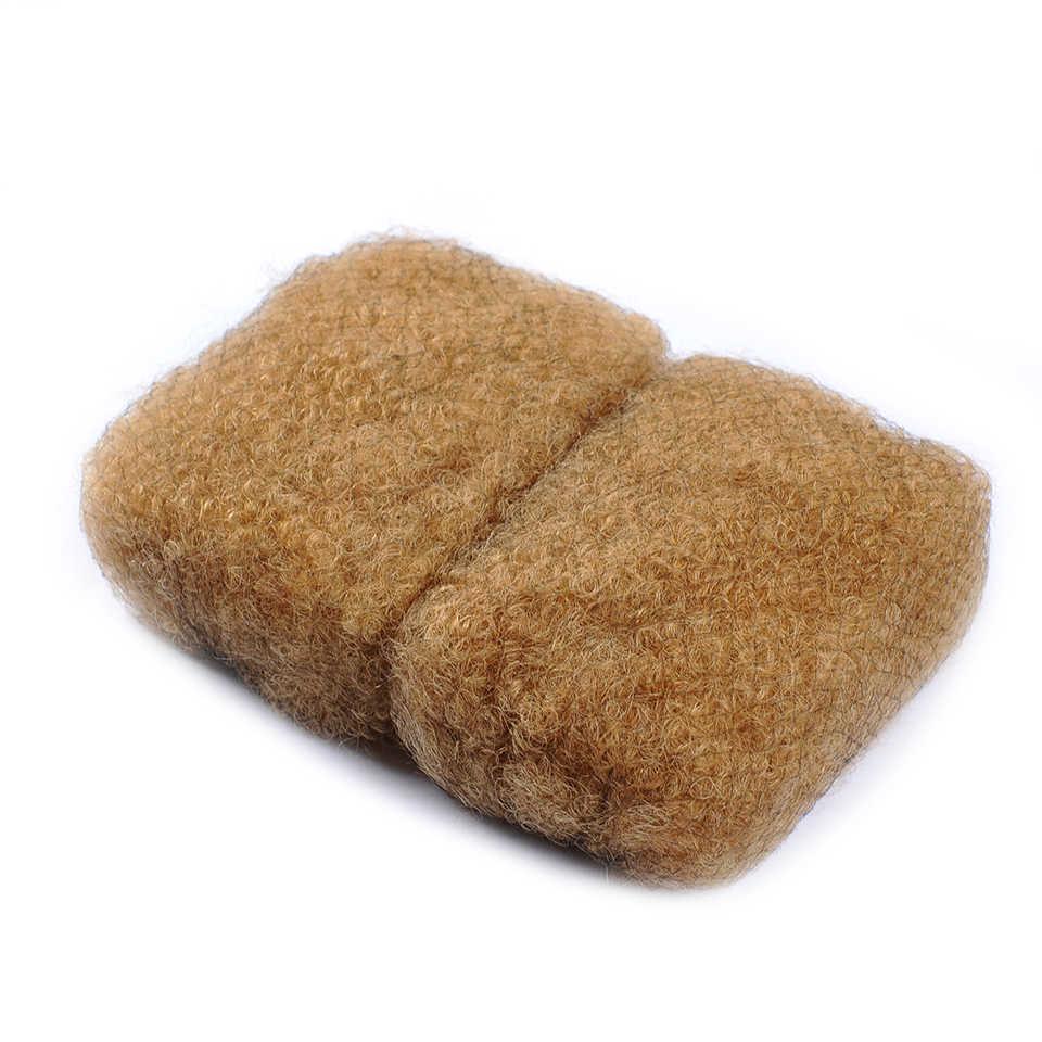 I Envy honey Blonde афро кудрявый человеческий волос оптом для плетения 27 бразильских волос плетение не уток кудрявые человеческие волосы для плетения Nonremy