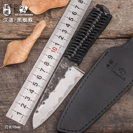 HX OUTDOORS camping survival knife brand high carbon stainless steel blade knife tactical hunting utility knives EDC hand tools hx outdoors d2 blade knife camping saber tactical fixed knife zero tolerance hunting survival hand tools quality straight knife